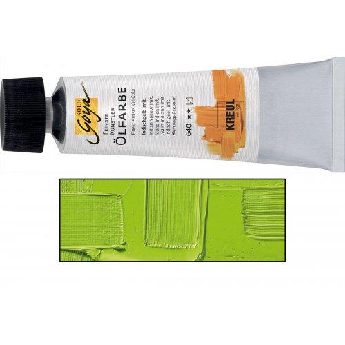 Olejová barva SOLO GOYA cinnabar zelená světlá v tubě 55 ml
