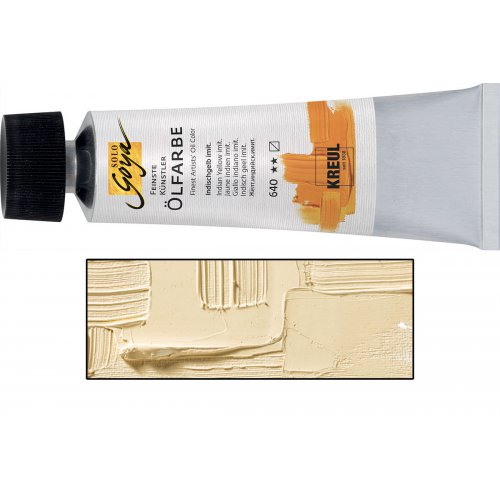 Olejová barva SOLO GOYA světlý okr v tubě 55 ml