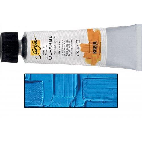 Olejová barva SOLO GOYA 55 ml světle modrá
