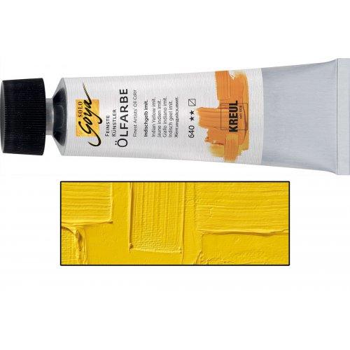 Olejová barva SOLO GOYA kadmium žlutá světlá v tubě 55 ml