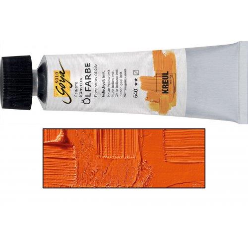 Olejová barva SOLO GOYA kadmium oranžová v tubě 55 ml