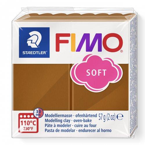 FIMO soft 57g HNĚDÁ