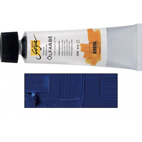 Olejová barva SOLO GOYA kobaltová modrá světlá v tubě 55 ml