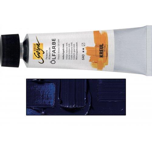 Olejová barva SOLO GOYA kobaltová modrá tmavá v tubě 55 ml