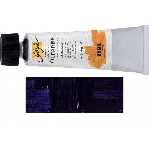 Olejová barva SOLO GOYA fialové jezero v tubě 55 ml