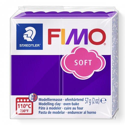 FIMO soft fialová 57g