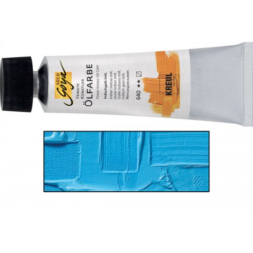 Olejová barva SOLO GOYA 55 ml azurová