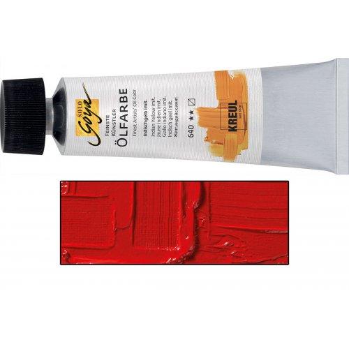 Olejová barva SOLO GOYA 55 ml kadmium červená tmavá