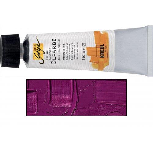 Olejová barva SOLO GOYA 55 ml kobaltová fialová