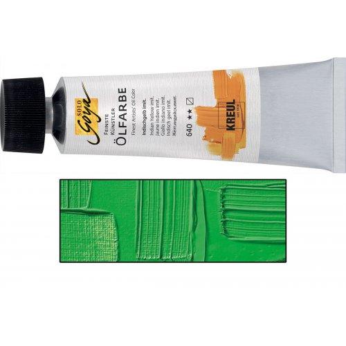 Olejová barva SOLO GOYA kadmium zelená v tubě 55 ml
