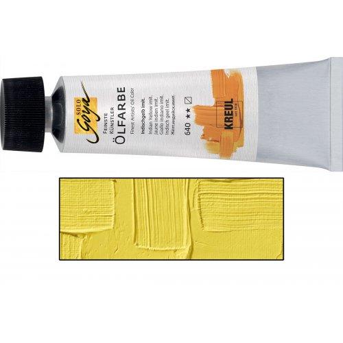 Olejová barva SOLO GOYA kadmium žlutá citron v tubě 55 ml
