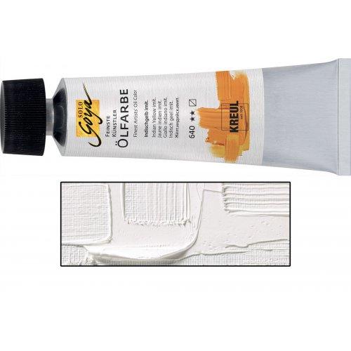 Olejová barva SOLO GOYA titanová bílá v tubě 55 ml