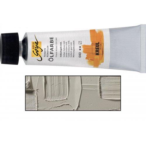 Olejová barva SOLO GOYA teplá hnědá v tubě 55 ml
