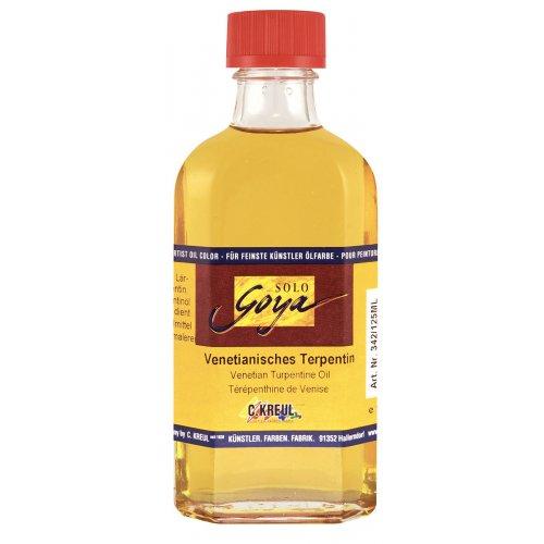 SOLO GOYA Painting Medium benátský terpentinový olej 125 ml