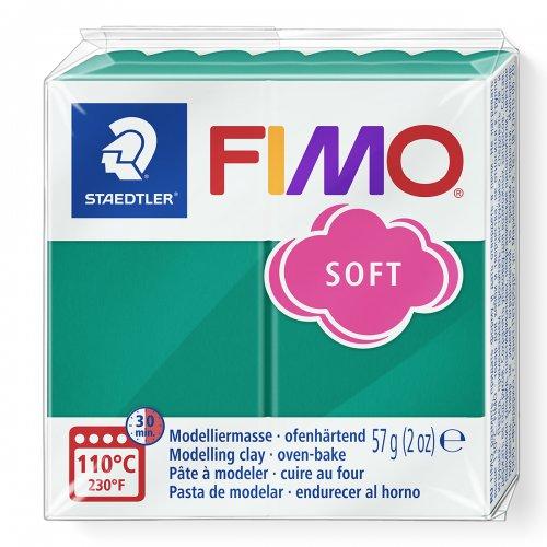 FIMO soft tmavě zelená 57g