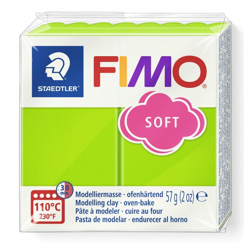 FIMO soft světle zelená 57g