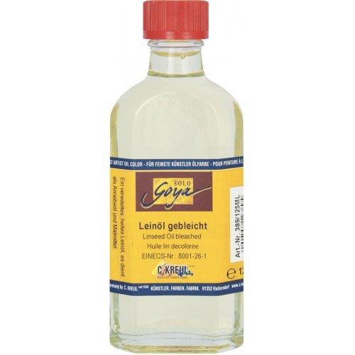 Malířské médium Lněný olej bělený SOLO GOYA 1000 ml