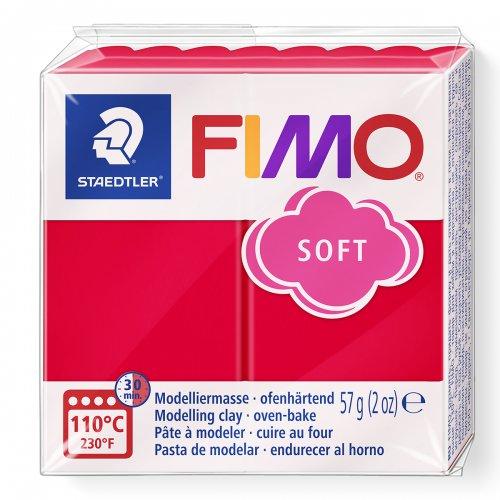 FIMO soft 57g ČERVENÁ