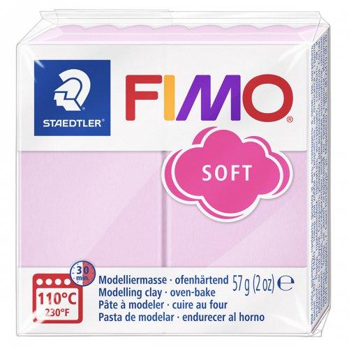 FIMO efekt pastel růžová růže 57g