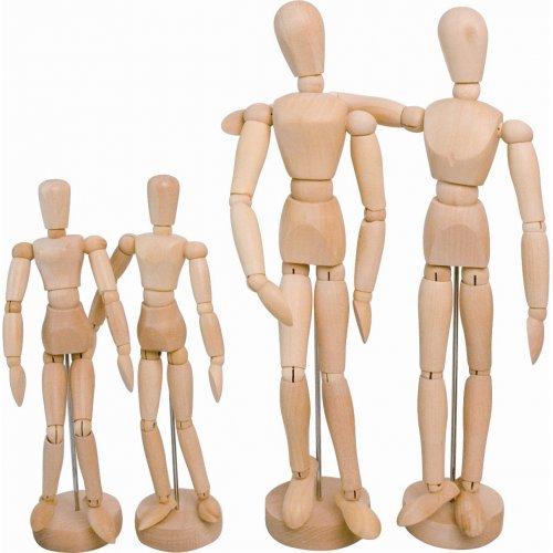 SOLO GOYA Dřevěný manekýn žena 31 cm výška