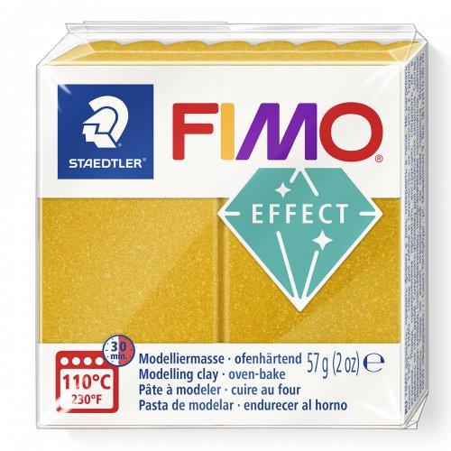 FIMO efekt metalická zlatá 57g