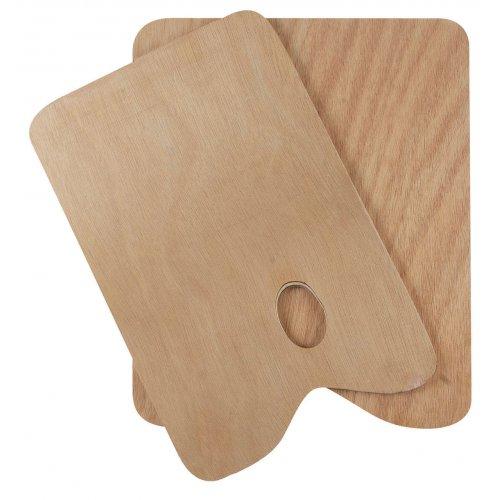 Malířská paleta dřevo SOLO GOYA obdelník 20 x 30 cm, tl. 5 mm
