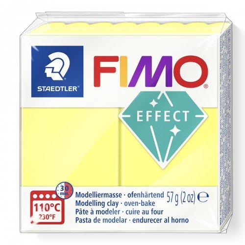FIMO efekt transparentní žlutá 57g