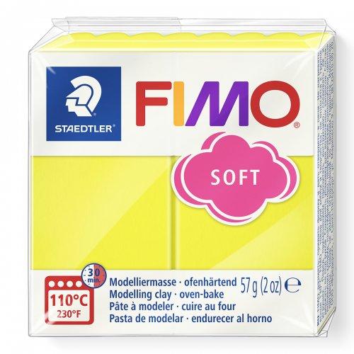 FIMO soft žlutá 57g