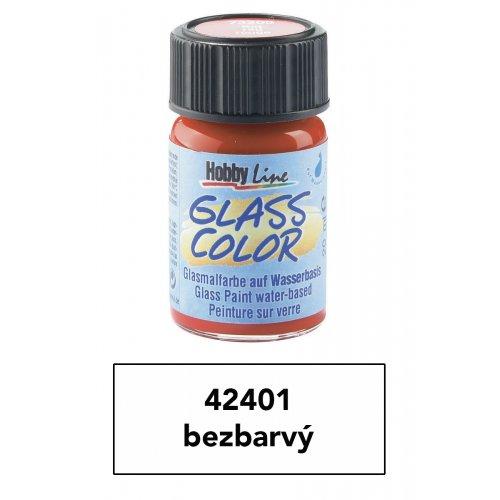 Barva na sklo transparentní HOBBY LINE bezbarvá 20 ml
