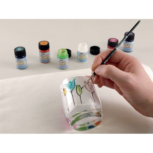 Barva na sklo na vodní bázi HOBBY LINE černá 20 ml - 424_Glass_image2.jpg