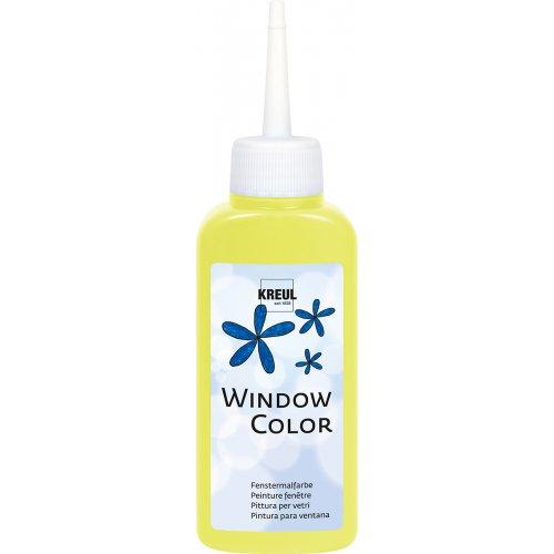 Barva na sklo WINDOW COLOR 80 ml neonová žlutá