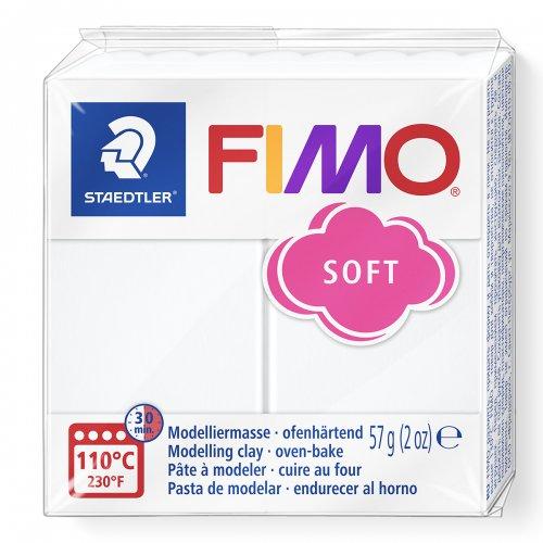FIMO soft 57g BÍLÁ
