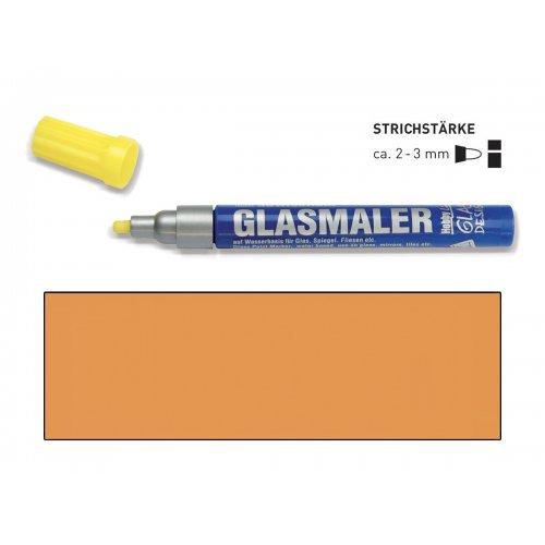 Popisovač na sklo GLASS MARKER oranžový