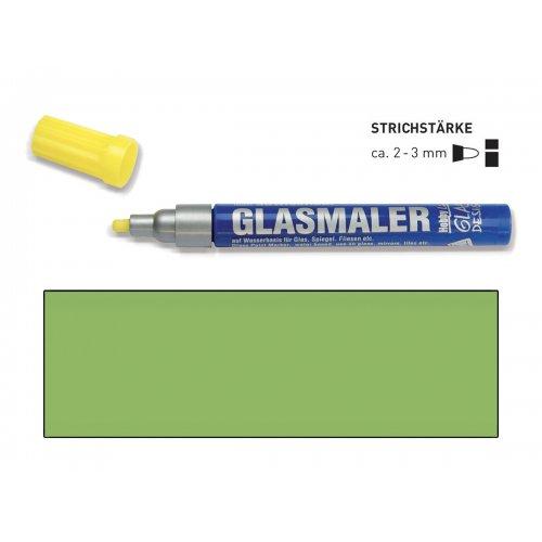 Popisovač na sklo GLASS MARKER tmavě zelený