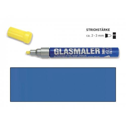 Popisovač na sklo GLASS MARKER tmavě modrý