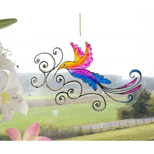 Sada Barva na sklo WINDOW COLOR třpytivá fantazie - 427_Window Color-Paradiesvogel.jpg