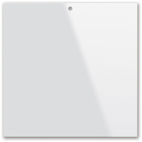 Plexisklo pro malbu na sklo, tvar čtverec, průměr 10 cm