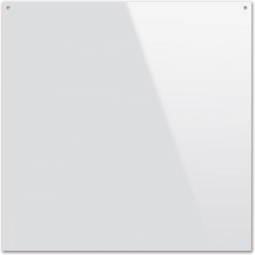 Plexisklo pro malbu na sklo, tvar čtverec, průměr 20 cm