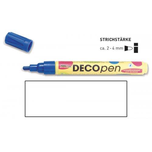 Fix dekorační DECOpen 2 - 4 mm bílý