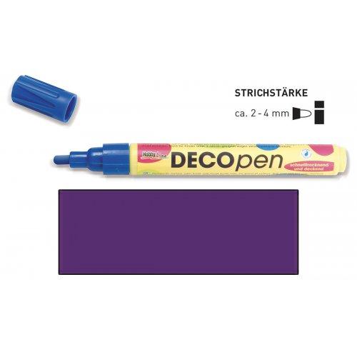 Fix dekorační DECOpen 2 - 4 mm fialový