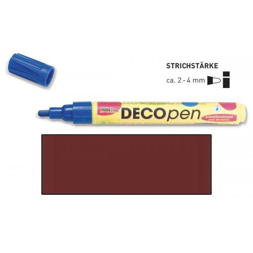 Fix dekorační DECOpen 2 - 4 mm hnědý
