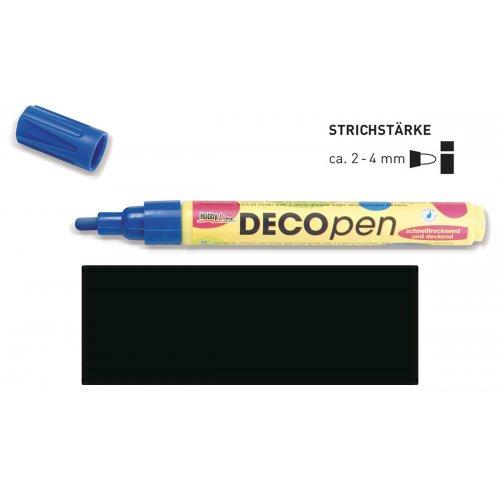Fix dekorační DECOpen 2 - 4 mm černý
