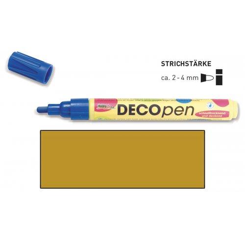 Fix dekorační DECOpen 2 - 4 mm zlatý