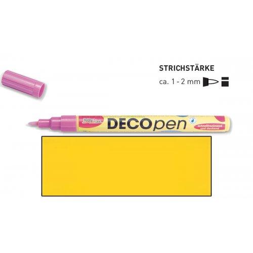 Fix dekorační DECOpen 1 - 2 mm žlutý