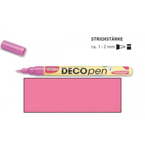 Fix dekorační DECOpen 1 - 2 mm růžový