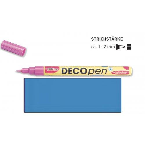 Fix dekorační DECOpen 1 - 2 mm světle modrý