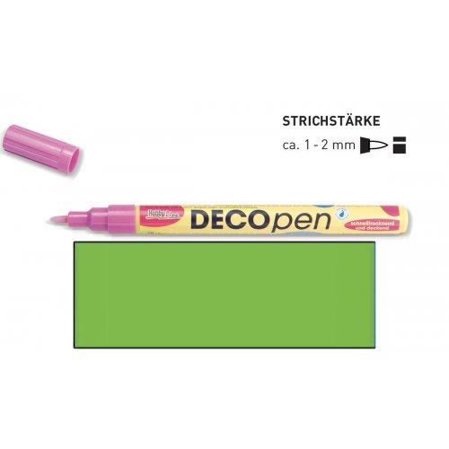 Fix dekorační DECOpen 1 - 2 mm světle zelený