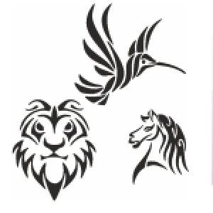 Šablony na tetování
