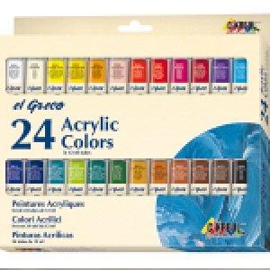 Sady akrylové barvy