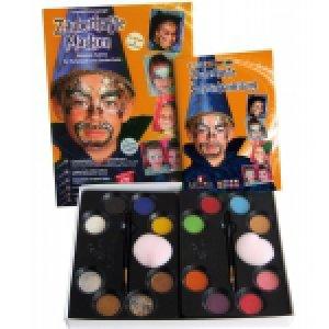 Sady barev na obličej a tělo